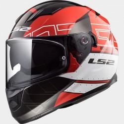 LS2 Stream Evo Kub Red Black