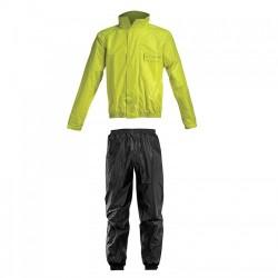 Αδιάβροχο Σετ Acerbis Rain Suit Logo Black-Yellow