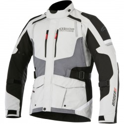 Μπουφάν Μηχανής Alpinestars Andes v2 Drystar Lightgray