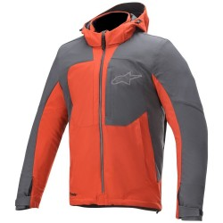 Μπουφάν Μηχανής Alpinestars Stratos v2 Techshell Drystar Red Asphalt