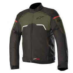 Μπουφάν Μηχανής Alpinestars Hyper Drystar Black Military Green