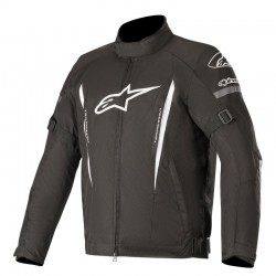 Μπουφάν Μηχανής Alpinestars Gunner v2 Black White