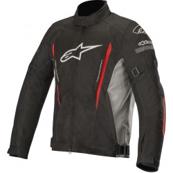 Μπουφάν Μηχανής Alpinestars Gunner v2 Black Grey Red