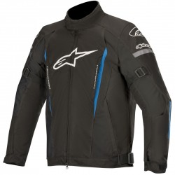 Μπουφάν Μηχανής Alpinestars Gunner v2 Black Bright Blue