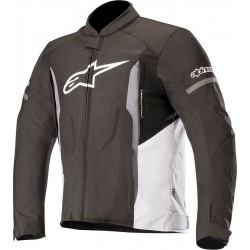 Μπουφάν Μηχανής Alpinestars T-Faster Black White Dark Gray