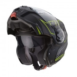 Caberg Droid Iron Blaze Matt Black-Yellow Fluo