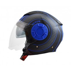 STR Tron Black-Blue Matt