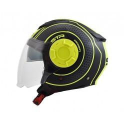 STR Tron Black-Yellow Fluo Matt