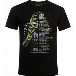 T-Shirt VR 46 Velocita Black