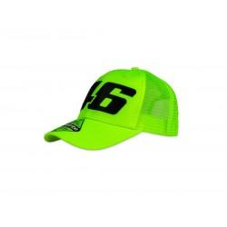 VR 46 Fluorescent Trucker Cap