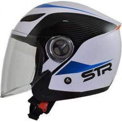 STR Sporty White-Blue