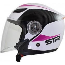 STR Sporty White-Pink