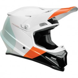 Thor S9 Sector Mips White-Red Orange