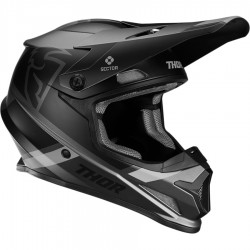 Thor Sector Mips Split Charcoal/Black Helmet