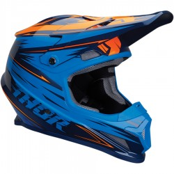 Thor Sector Warp Navy/Electric Blue Helmet