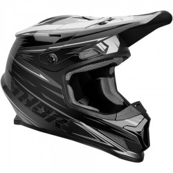 Thor Sector Warp Charcoal/Black Helmet