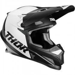 Thor Sector Blade Black/White Helmet