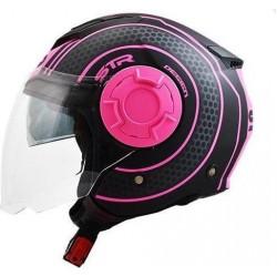 STR Tron Black-Pink Matt