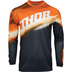 Μπλούζα MX Thor Sector Vapor Orange/Midnight