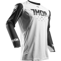 Thor Pulse S7 Jersey Aktiv White/Black