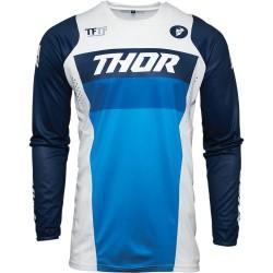 Μπλούζα MX Thor Pulse Racer White/Navy