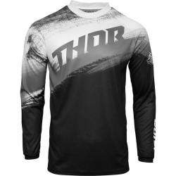 Μπλούζα MX Thor Sector Vapor Black/White