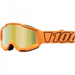 Μάσκα 100% Accuri Luminari Mirror Gold Lens