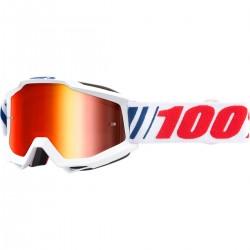 Μάσκα 100% Accuri AF066 Mirror Red Lens