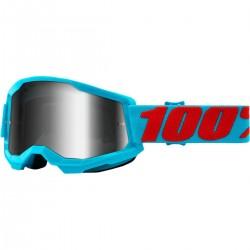 Μάσκα 100% Strata 2 Summit-Mirror Silver Lens