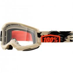 Μάσκα 100% Strata 2 Kombat-Clear Lens
