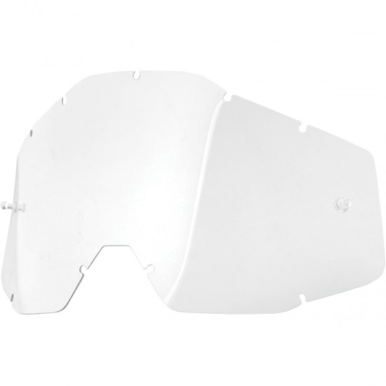 100% Replacement Lens Clear Anti-fog