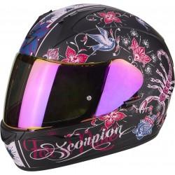 Scorpion EXO-390 Chica Matt Black/Pink