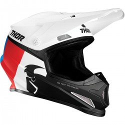 Thor Sector Racer White/Blue/Red