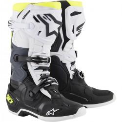 Alpinestars Tech 10 Black/White/Yellow