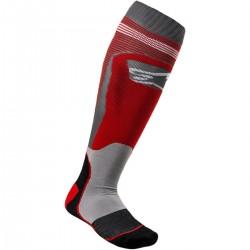 Κάλτσες Alpinestars MX Plus1 Red Cool Gray