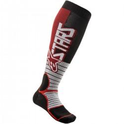 Κάλτσες Alpinestars MX Pro Burgundy/Black