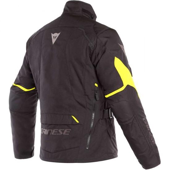 Μπουφάν Μηχανής Dainese Tempest 2 D-Dry Black/Black/Fluo Yellow