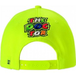 VR 46 Stripes Cap Fluo Yellow