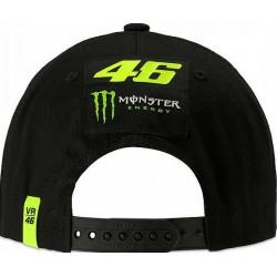 VR 46 Monza Monster Cap Black