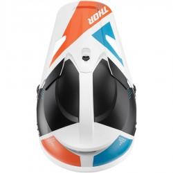 Thor Sector Blade White/Aqua Helmet