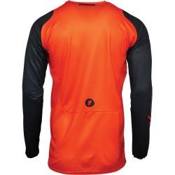 Μπλούζα MX Thor Pulse Racer Orange/Midnight